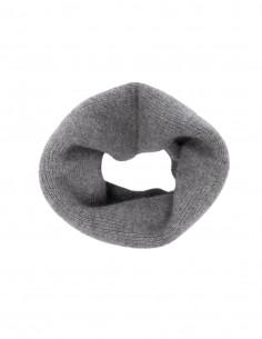 Totême grey cashmere neck warmer for women - FW21