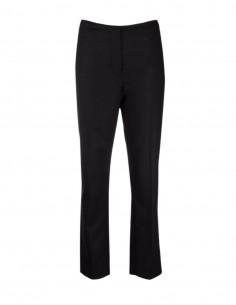 Totême black pants in wool blend for women - FW21