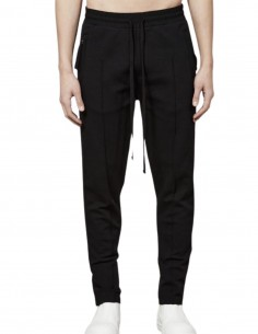 Thom Krom black jogging pants with stitching for men - FW21