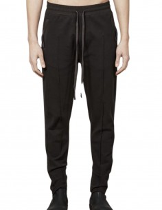 Thom Krom brown jogging pants with stitching for men - FW21