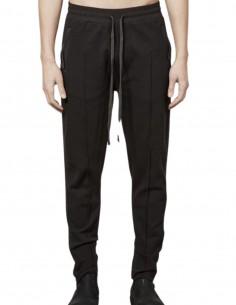 Pantalon de jogging marron Thom Krom avec coutures pour homme - FW21