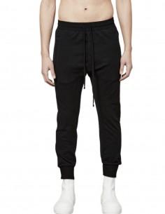 Pantalon de jogging noir style sarouel Thom Krom pour homme - FW21