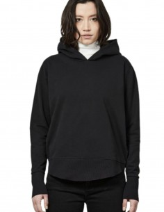 Black oversized hoodie Thom Krom for women - FW21