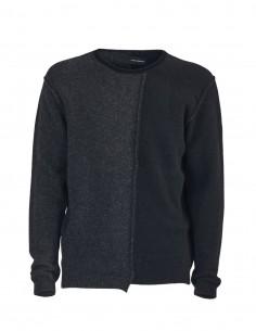 Benenato two-tone round neck jumper for men - FW21
