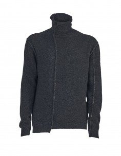 Benenato anthracite high neck sweater for men - FW21