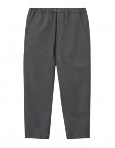 Pantalon gris à élastique OAMC pour homme - FW21