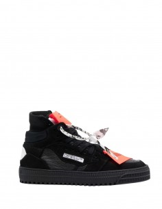 """Unisex Off-White """"Off-Court 3.0"""" black and white high-top sneakers - FW21"""