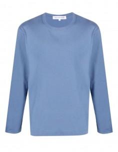 T-shirt bleu Comme des garçons shirt à manches longues pour homme - FW21