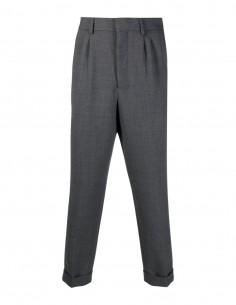 Pantalon gris à pince Ami Paris pour homme - FW21