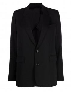 Veste de blazer noire Ami Paris pour femme - FW21
