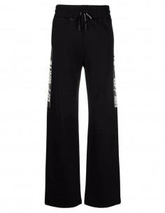 Pantalon de jogging noir à bande logo OFF-WHITE pour femme - FW21