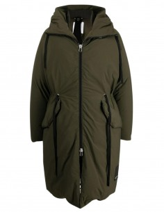 OAMC long khaki puffer jacket for men - FW21