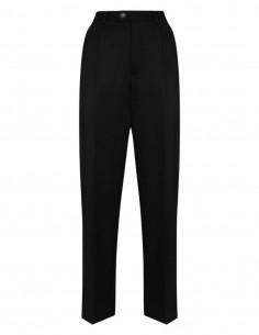 Pantalon navy avec ganse bordeaux MAISON MARGIELA pour femme - FW21