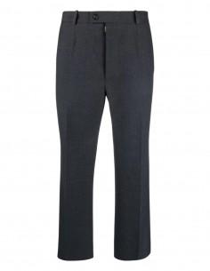Maison Margiela straight grey 7/8 trousers for men - FW21