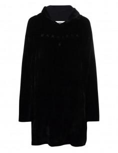 Robe en velours noire MM6 pour femme - FW21