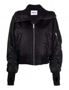 Short black Ambush bomber jacket for women - FW21