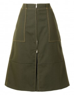 Jupe culotte cargo kaki Ambush pour femme - FW21