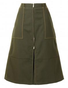 Khaki Ambush cargo panty skirt for women - FW21
