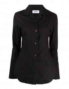 Ambush close-fitting black shirt for women - FW21