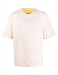 Reversible yellow T-shirt Ambush for men - FW21
