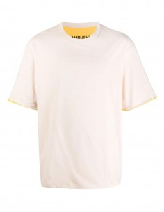 T-shirt jaune réversible Ambush pour homme - FW21