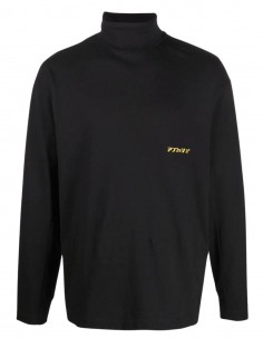 Ambush black turtleneck t-shirt for men - FW21