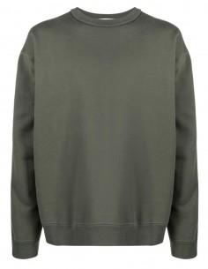 Ambush khaki sweatshirt with zip detail for men - FW21