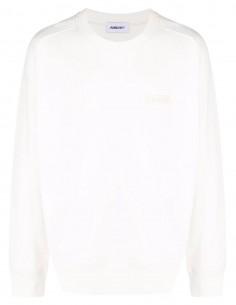 Sweat blanc patch logo poitrine Ambush pour homme - FW21