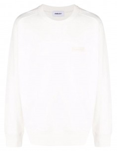 Ambush white sweatshirt with logo patch on the chest for men - FW21