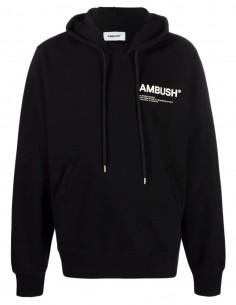 Sweat noir à capuche Ambush pour homme - FW21