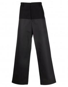 Ambush black bi-material worker trousers for men - FW21