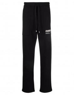 Jogging noir logo blanc Ambush pour homme - FW21