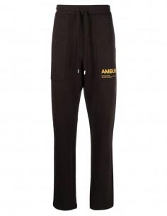 Jogging marron logo jaune Ambush pour homme - FW21