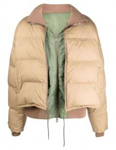 Ambush quilted beige puffer jacket for men - FW21