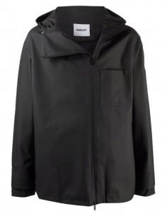 Ambush black zipped jacket with hood for men - FW21