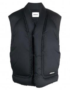 Ambush black sleeveless puffer jacket for men - FW21