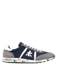 "Premiata ""LucyVar600E"" blue sneakers - for men - FW21"