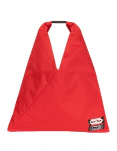 """iconic japanese red bag """"Tote"""" MM6 x Eastpak for women - FW21"""