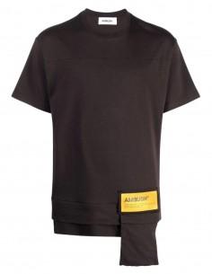 Ambush black t-shirt with yellow logo for men - FW21