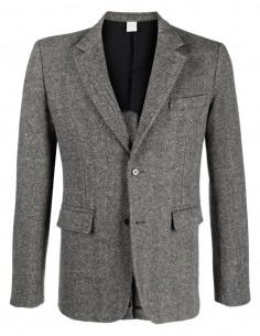 Veste grise chevron Comme Des Garçons Shirt pour homme - FW21