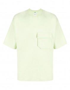 OAMC oversized green t-shirt for men - FW21