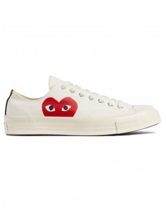 Comme des Garcons play Converse low-sneakers - White