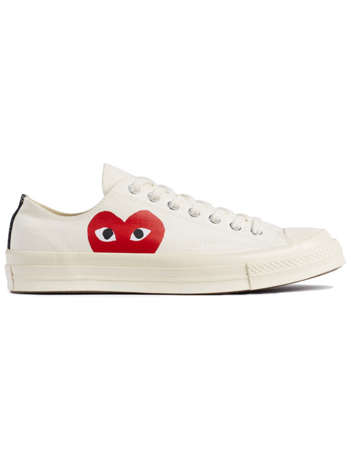 c447def1d701 Comme des Garcons play Converse low-sneakers in White