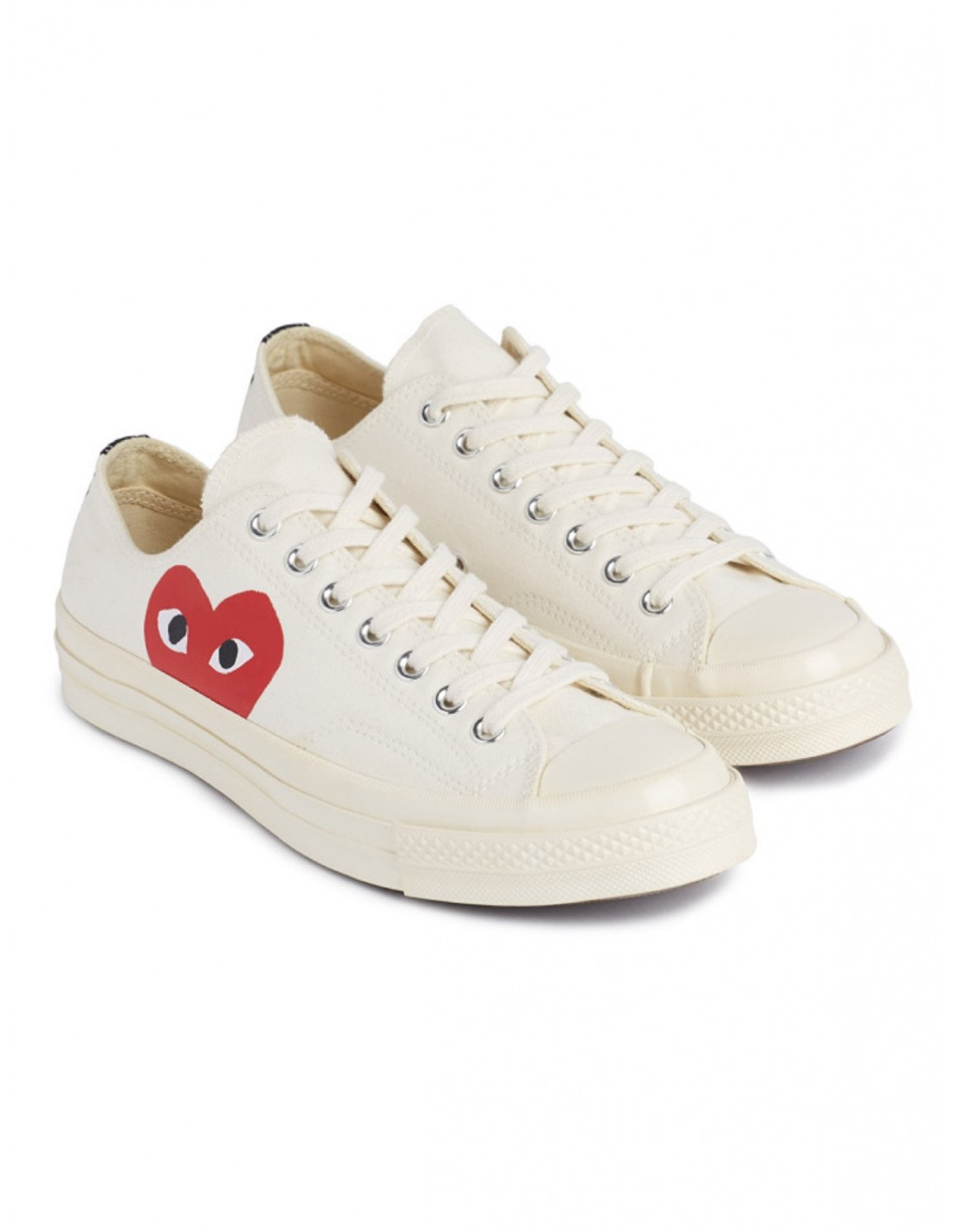 c0519a81d87aff ... Comme des Garcons play Converse low-top sneakers - White. New