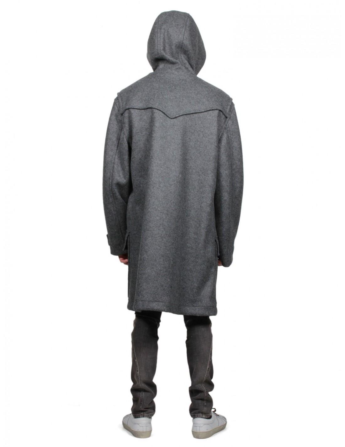 Duffle Homme Faith Coat Laine En Serie Connexion Noire Pour pxqrTpgHw