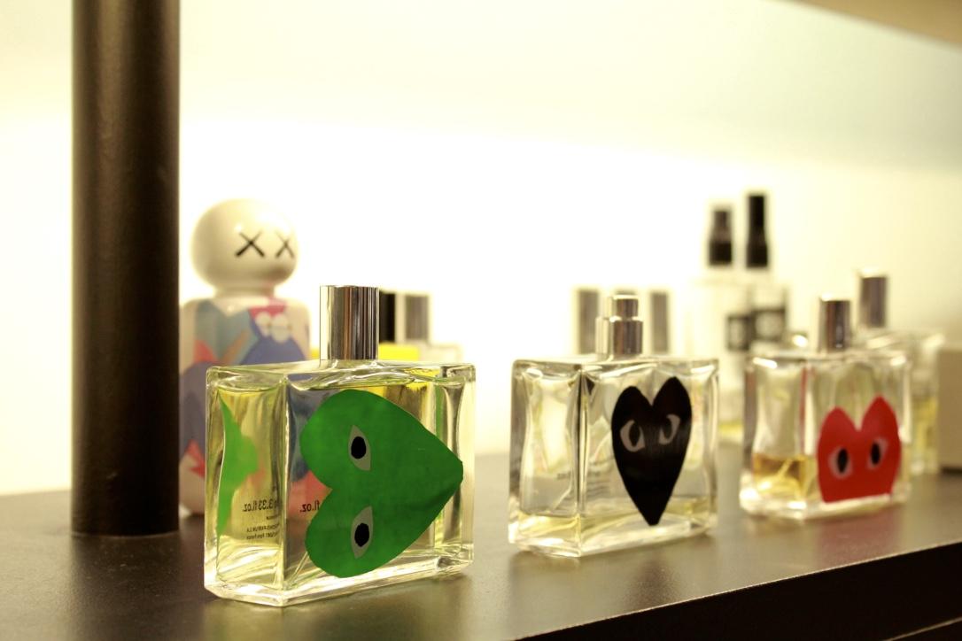 comme des garcons parfums série noire lille